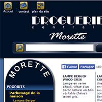 Droguerie centrale Morette